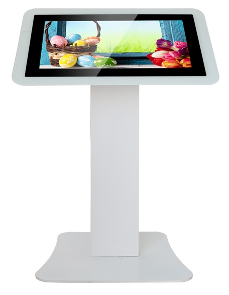 White Android Touch Screen Kiosk