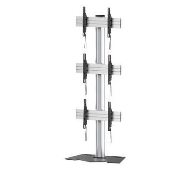 1 x 3 Videowall Floorstand LifeSize Touch