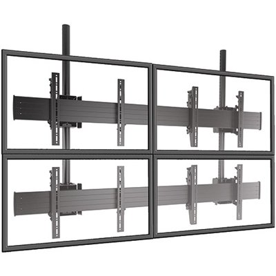 2 x 2 Videowall Wallmount LifeSize Touch
