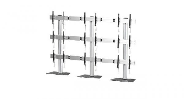 3 x 3 Videowall Floorstand LifeSize Touch