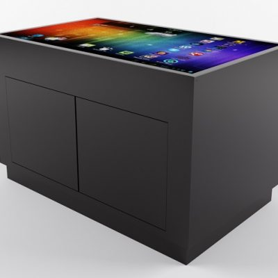 "4K 55"" touchscreen table UHD 4K"
