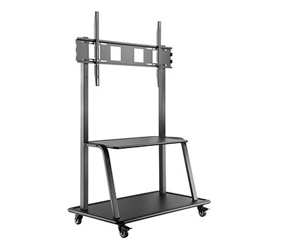 Wheeled Floorstand for Large Touchscreens LifeSize Touch