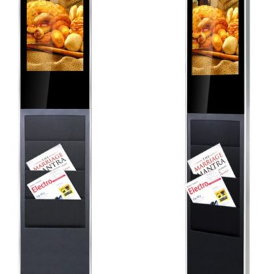 "22"" Android Touchscreen Brochure Totem Freestanding"