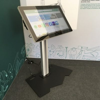 32 inch exhibition touch screen hire rental