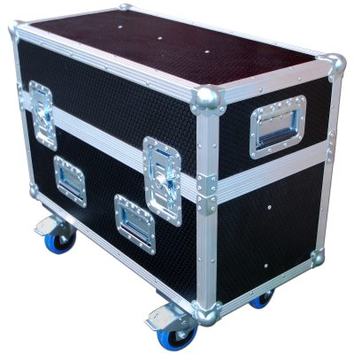 Custom flightcase for touchscreens