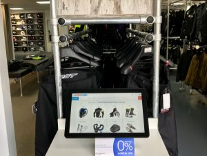Android touchscreens for retail endless aisle