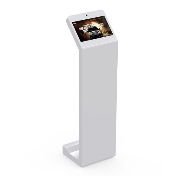 "13.3"" touch kiosk with camera LifeSize Touch"