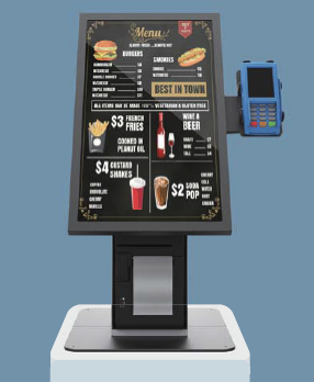 "21.5"" self service touch kiosk LifeSize Touch"