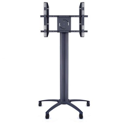 180cm Wheeled Screen Floorstand Black LifeSize Touch