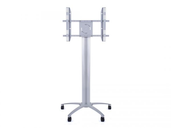 180cm Wheeled Screen Floorstand Silver LifeSize Touch
