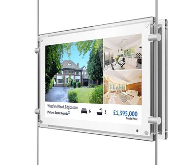 "15"" Rod System Digital Display LifeSize Touch"