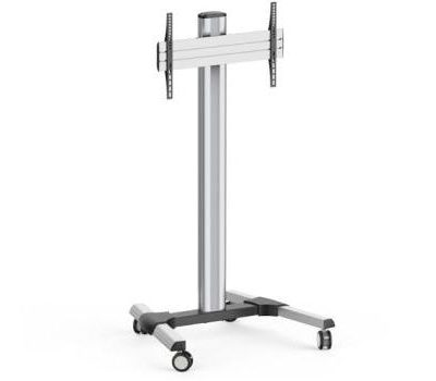 Tall Wheeled Screen Floormount LifeSize Touch