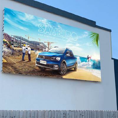 Outdoor LED video wall LifeSize Touch