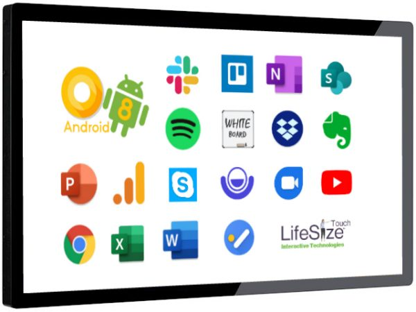 Android 8 32, 43, 55 inch touchscreen