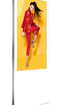 50 inch freestanding touchscreen totem